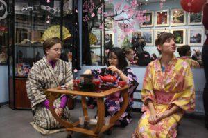 """Фестиваль """"Дух Японии"""" в библиотеке Графических историй."""