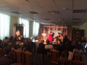 Б245  премьера показа фильма ул. Берзарина,д.6