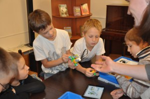 ЦБС СЗАО Детская библиотека 228 Москва.Детство в большом городе (4)