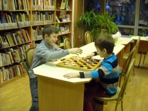 ЦБС СЗАО ДБ 244 08.01.2018 игра в шашки